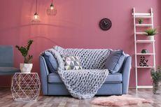 6 Ide Ruang Tamu dengan Nuansa Warna Merah Muda, Nyaman dan Cantik
