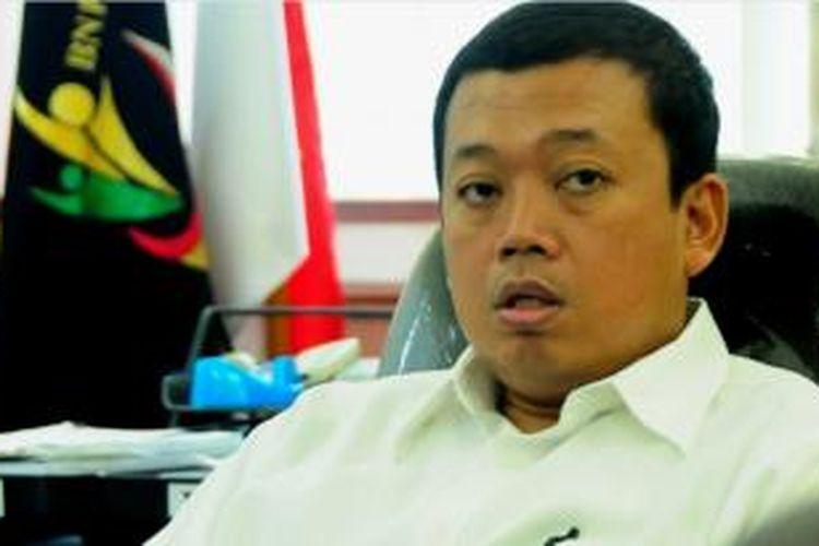 Kepala BNP2TKI, Nusron Wahid, di Jakarta, Kamis (17/9/2015).