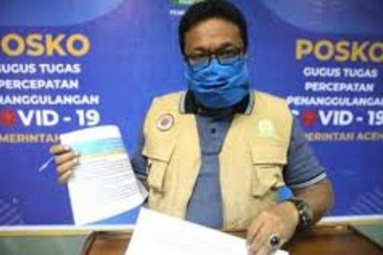 Saifullah Abdulgani, Juru Bicara Covid-19 Aceh.