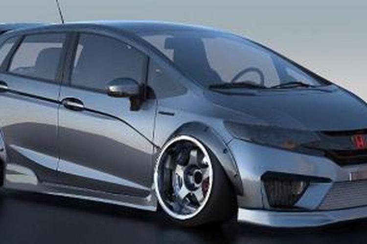 Honda All-New Jazz bergaya futuristis