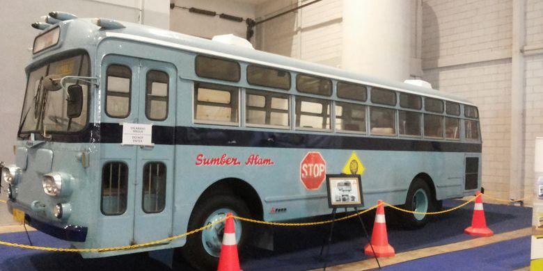 Mitsubishi Fuso R Series 470 lansiran 1963 milik PO Sumber Alam. Bus ini menjadi satu dari beberapa bus lawas yang dipamerkan di acara Indonesia Classic N Unique Bus (Incubus) 2018 di Hall B Jakarta International Expo, Kemayoran, Jakarta Pusat pada 22-24 Maret 2018.