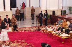 Jokowi Puji Suara Merdu Dua Penyandang Disabilitas Netra