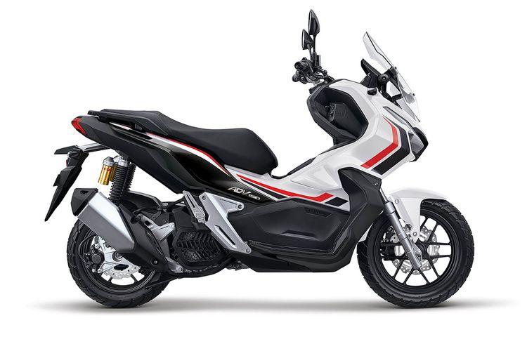 Honda ADV150 Advance White Black