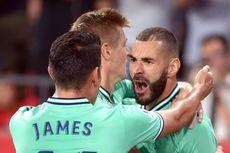 Hasil Sevilla Vs Real Madrid, Benzema Cetak Gol, Los Blancos Menang