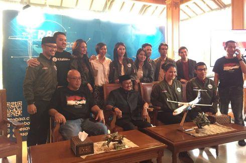 Nadine Chandrawinata Jadi Influencer Pesawat R80