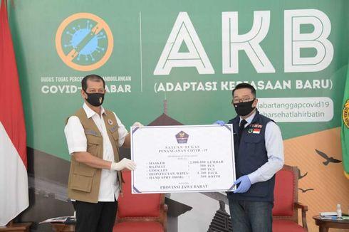 BNPB Beri Bantuan 2 Juta Masker untuk Jawa Barat