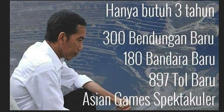 Klaim pembangunan di era Jokowi-JK