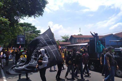 Demo Tolak UU Cipta Kerja di Magelang, Polisi Amankan 5 Pelajar SMK