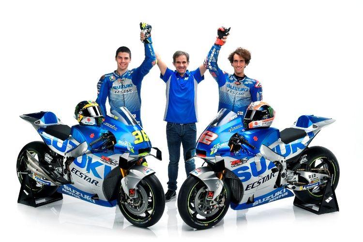 Suzuki GSX-RR jadi salah satu faktor penentu apiknya performa tim balap Suzuki Ecstar pada MotoGP 2020.