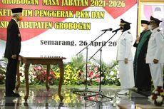 Sah, Sri Sumarni-Bambang Pujiyanto Resmi Jabat Bupati dan Wabup Grobogan