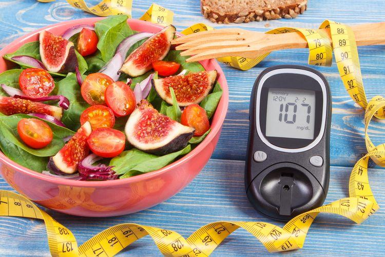 Ilustrasi diet diabetes