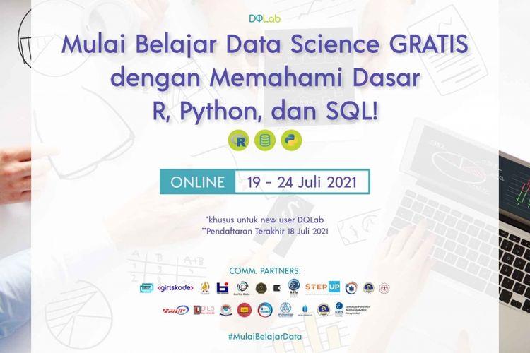 Kursus Data Science Gratis untuk Umum Periode Juli 2021