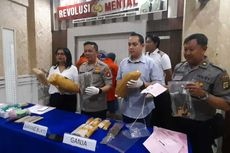 Polres Metro Jakarta Selatan Tangkap Dua Pengedar Ganja Jaringan Aceh