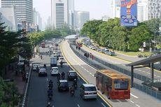 Desember, Jumlah Sepeda Motor di Jalan Medan Merdeka Barat-Bundaran HI Dibatasi