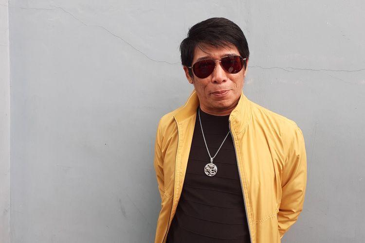 Parto Patrio saat ditemui di kawasan Mampang, Jakarta Selatan, Jumat (10/1/2020).