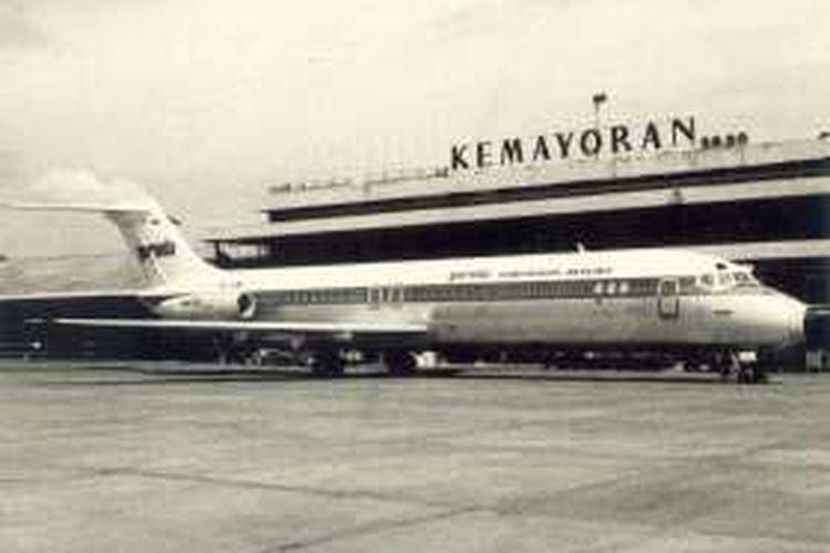 Pesawat Garuda PK-BNJ