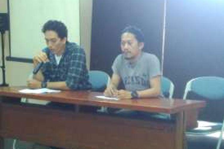 LBH Jakarta menggelar jumpa pers mengingat pelanggaran HAM yang terjadi di bulan September, di Kantor LBH Jakarta, Minggu (4/9/2016)