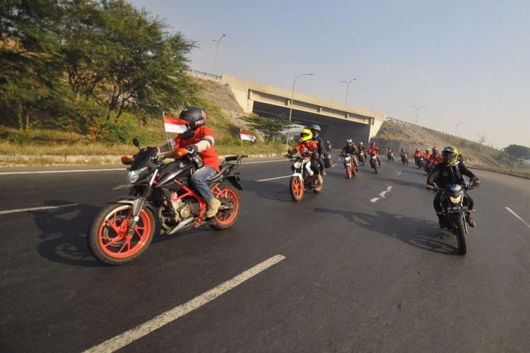 Convoy Merdeka komunitas Honda di Indonesia
