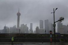 Topan Chanthu Terjang Shanghai China, Ratusan Penerbangan Dihentikan, 28.000 Orang Dievakuasi