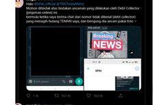 Viral Teror Debt Collector Tagih Pinjaman Online, Ini Respons OJK