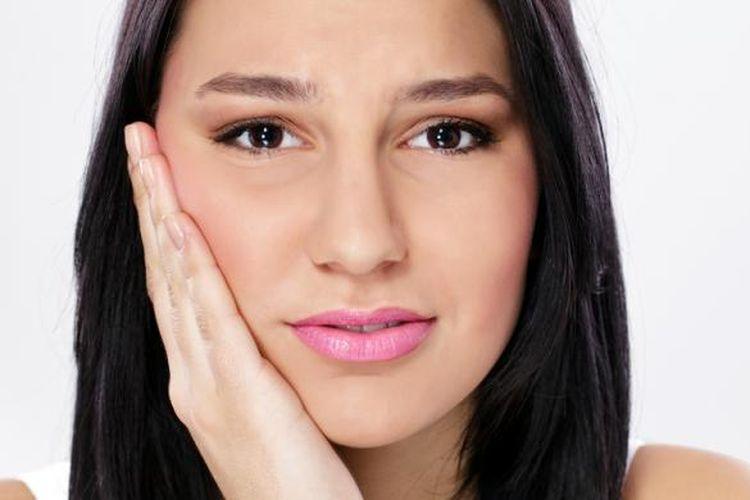 Ilustrasi sakit gigi.