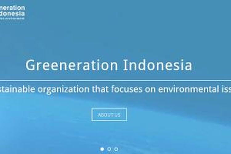 Screenshot Situs Greeneration