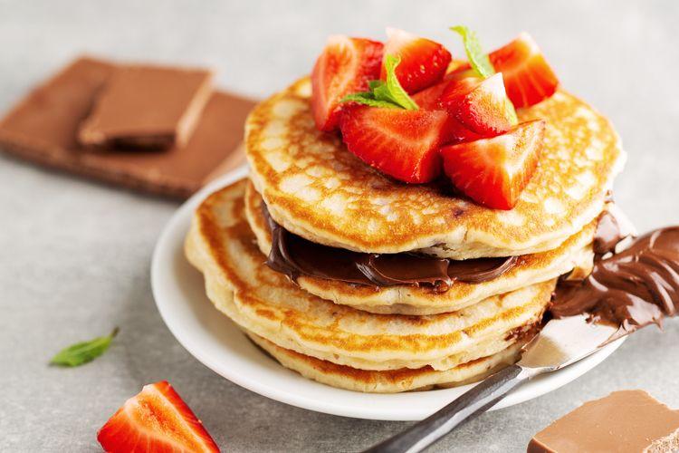 Ilustrasi pancake.