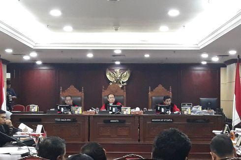 Respon Hakim MK Saat Diperintah Saksi...