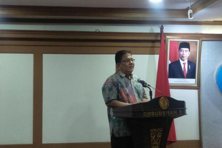 Anggota Ombudsman RI Adrianus Meliala di Kantor Ombudsman, Jakarta Selatan, Rabu (26/2/2020)