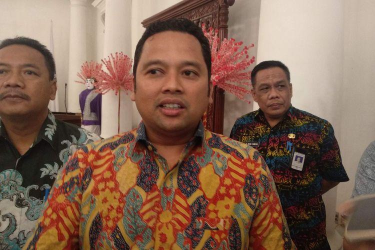 Wali Kota Tangerang Arief R Wismansyah di Balai Kota DKI Jakarta, Kamis (21/12/2018).