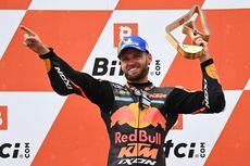 MotoGP Austria - Kata Brad Binder Usai Menangi Balapan Penuh Drama
