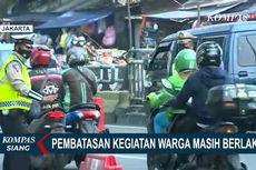 Pejelasan Polisi soal Tak Terlihat Petugas Periksa STRP di Pos Penyekatan Underpass Basura