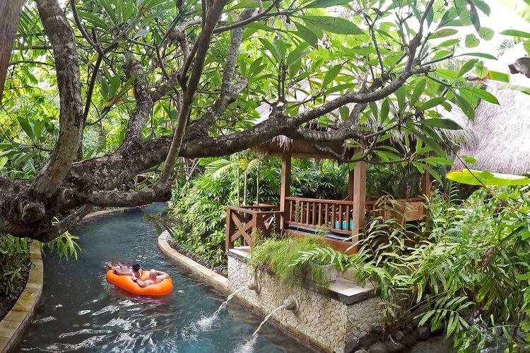 Tempat wisata Waterbom Bali di Kuta, Bali.