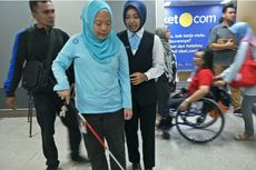Cerita Cheta, Penyandang Disabilitas, Jajal MRT