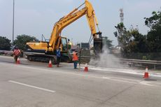 Hati-hati, Hari Ini ada Perbaikan Jalan Tol Jagorawi