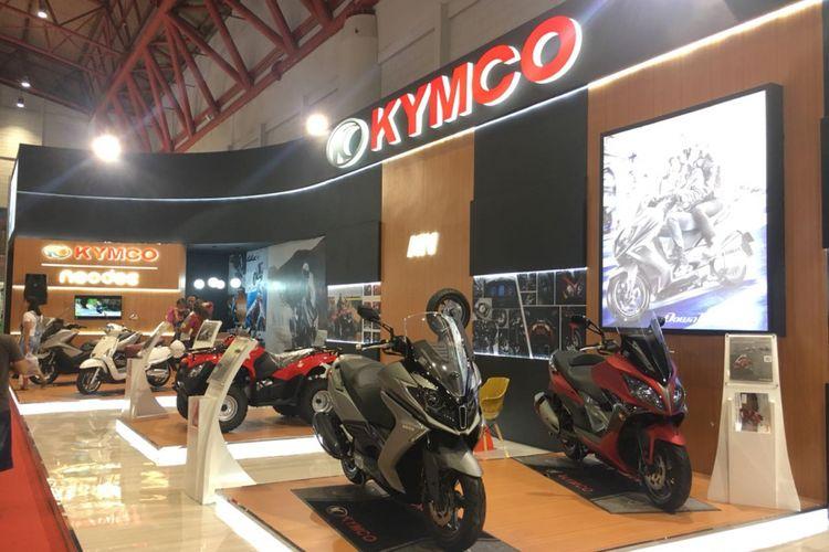 Booth Kymco di Jakarta Fair Kemayoran (JFK) 2018.