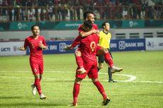 Indonesia Vs Hong Kong, Beto Bawa Timnas Unggul di Babak Pertama