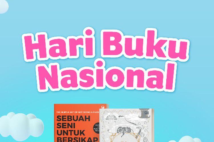 Rayakan Hari Buku Nasional, Gramedia Hadirkan Diskon 30 Persen  Hingga Buku Rp 0