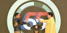 Jokowi Minta Kader Golkar Solid