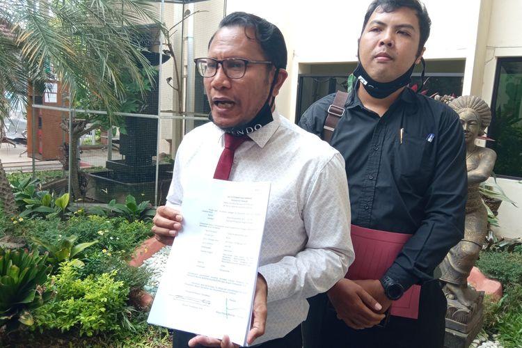 Penasihat Hukum Jerinx Wayan Gendo Suardana  di PN Denpasar, Kamis (26/11/2020).