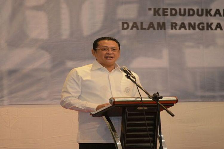 Bambang Soesatyo memandang sudah tidak ada relevansi mempertahankan polarisasi di Indonesia