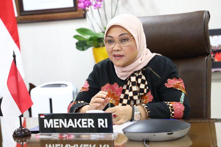 Menaker Ida Fauziyah menginstruksikan Balai Latihan Kerja (BLK) Lombok Timur (Lotim) agar segera mengirim bantuan logistik bagi korban banjir bandang dan longsor.