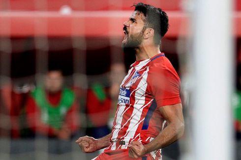 Usai Cetak Gol ke Gawang Barcelona, Diego Costa Cedera