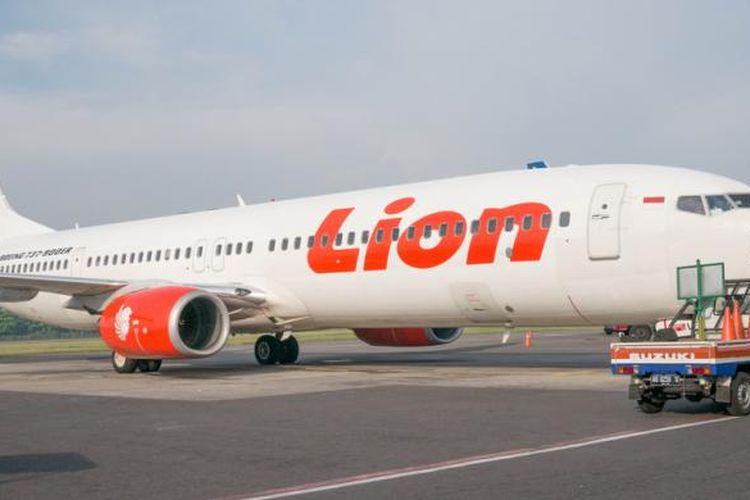 Pesawat Lion Air.