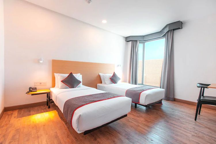 Kamar hotel OYO.