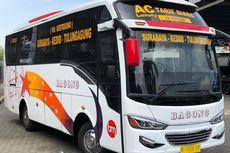 Konfigurasi Bangku Bus Medium PO Bagong dengan Social Distancing