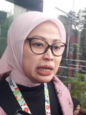 Plt Juru Bicara KPK Ipi Maryati memberi keterangan pada wartawan di Gedung Merah Putih KPK, Kamis (9/1/2020).