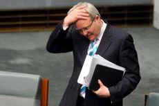Popularitas PM Rudd dan Partai Buruh Menurun