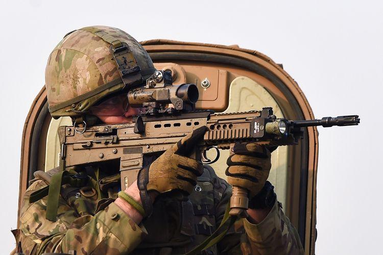 Tentara Inggris di Afghanistan.
