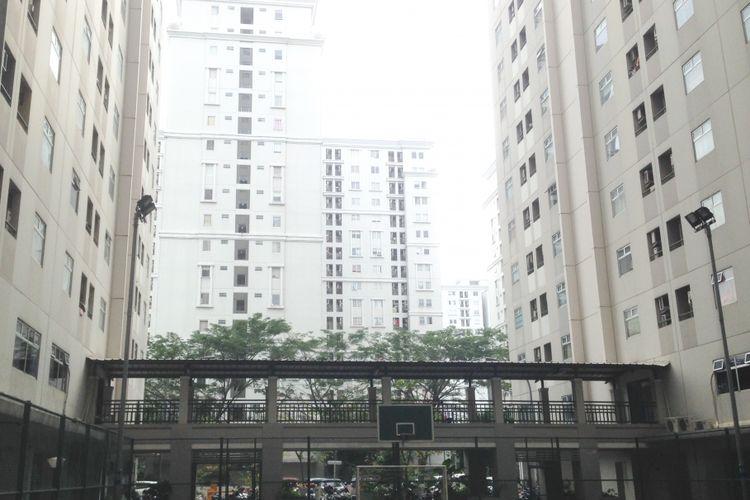 Kompleks hunian di Kalibata City, Pancoran, Jakarta Selatan, Senin (29/5/2027).